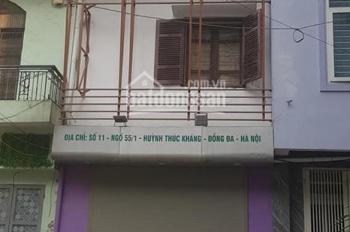 Bán nhà 2 mặt tiền ngõ 55/1 phố Huỳnh Thúc Kháng