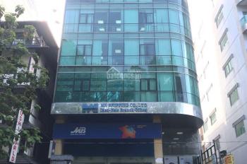 Cho thuê nhà mới xây góc 2 MT Ngô Quyền và hẻm xe hơi gần Ba Tháng Hai 8x20m, 1 hầm, 5 tầng, TM