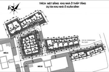 Bán nhà đất khu Xuân Đỉnh, Bắc Từ Liêm, Tây Hồ - diện tích 92m2 đến 173m2 - 0967 653 218