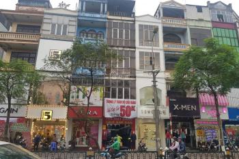 Cho thuê nhà lô góc mặt phố Chùa Bộc - Đống Đa: Mặt tiền 5m, diện tích 70m2 x 4 tầng