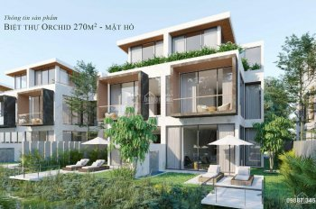 Biệt thự đảo Ecopark - The Island - 270m2, giá chỉ từ 66 triệu/m2
