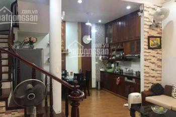 Cho thuê nhà ngõ 165 Thái Hà, Trung Liệt, Đống Đa 55m2, 4 tầng ô tô cách 20m, giá 15tr/th
