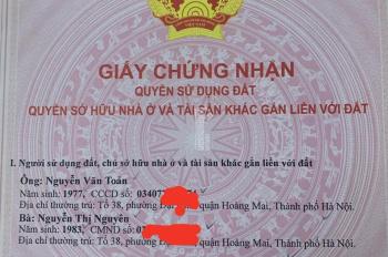 Cần bán nhà cấp 4 mặt phố Giáp Bát, Hoàng Mai, Hà Nội, 75m2, kinh doanh tốt, 7,3 tỷ có thương lượng
