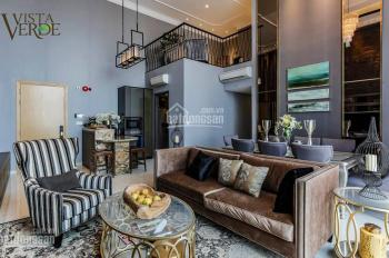 Bán căn hộ duplex, 132m2, tầng trung view Landmark 81 mát tại Feliz En Vista. LH 0903100492