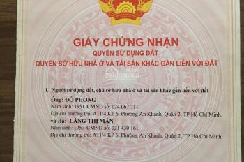 Bán nhà hẻm 3m, 708/1/10E Hồng Bàng, DT 5m x 6m, giá rẻ