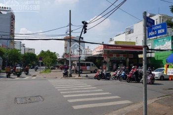 Bán cây xăng góc Đồng Đen - Hồng Lạc, Tân Bình: 25x30m tặng hết toàn bộ GPKD. Mua bán chính chủ