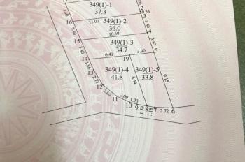 Chính chủ cần bán 37.3m2 đất ô tô đỗ cửa tổ 5 Phúc Lợi, Long Biên, MT 3.4m, hướng TN, chỉ 1.38 tỷ