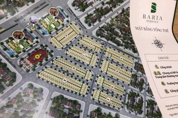 Đất nền trung tâm Bà Rịa, SHR, đối diện BV BR CK tới 12%. LH: 0374796395 (Phát)
