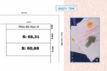 Bán lô đất Tràng Duệ, An Dương, giá siêu rẻ cho nhà đầu tư - LH: 0859566586