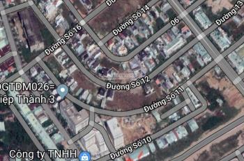 Bán đất VIP ngay góc vòng xoay KDC Hiệp Thành 3, Thủ Dầu Một, Bình Dương. DT 211,6m2, giá 12,5 tỷ