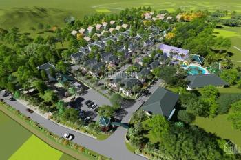 Bán biệt thự nghỉ dưỡng Green Oasis Lương Sơn, Hòa Bình, sổ đỏ lâu dài, giá 4,5tr/m2, 0986853461