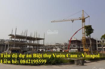 Chuyên bán đất biệt thự Vườn Cam Vinapol - Orange Garden - Vân Canh, Hoài Đức, 0842195599
