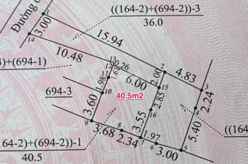 1.08 tỷ mua ngay 38.5m2 đất thổ cư Phú Vinh An Khánh gần chợ Phú An, An Khánh