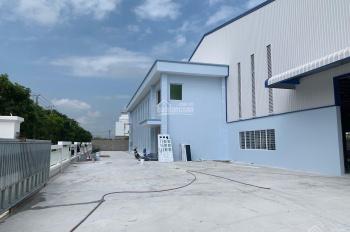 Cho thuê kho, nhà xưởng xây mới mặt tiền trục chính thuộc KCN Nhựt Chánh, xã Nhựt Chánh, Bến Lức