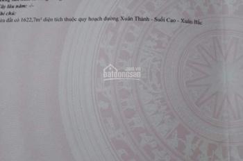Bán đất tại xã Xuân Thành, Xuân Lộc, Đồng Nai, diện tích 67 mẫu giá bán 1.2 tỷ/mẫu, LH 037.345.7474