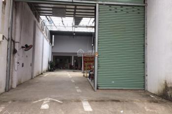 Bán nhà + xưởng 7x40m mặt tiền đường Phan Văn Hớn, gần chợ Bà Điểm, xã Bà Điểm, Hóc Môn