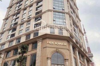 Bán căn hộ HDI 55 Tower Lê Đại Hành - căn A04 đẹp 2PN, 77.6m2, 6.8tỷ, view hồ, quà tặng 100tr