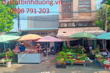 Bán nhà đất mặt tiền chợ nhỏ khu dân cư Thuận Giao, Bình Dương. Diện tích 5x30m, thổ cư hết
