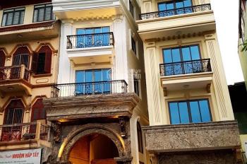 Cho thuê nhà mặt phố Hàng Bún: 90m2 x 4 tầng, mặt tiền 6m, nhà mới, thông sàn. LH: 0974557067
