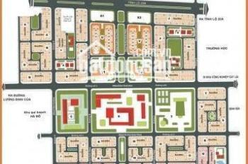 Chính chủ cần bán đất nền Huy Hoàng, Q2, lô góc hai mặt tiền, đường 20m, DT 18x20m, giá 168tr/m2