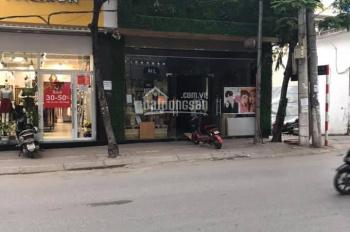 Bán đất mặt phố Phan Văn Trường, Dịch Vọng, Cầu Giấy 100m2, mặt tiền 8m kinh doanh đỉnh