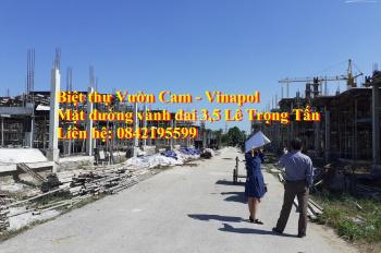 Bán đất biệt thự Vườn Cam Vinapol, xã Vân Canh, Hoài Đức, 0842195599