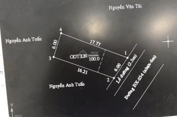 Bán đất đường DX 054 Phú Mỹ, Thủ Dầu Một, 6 x 17m, TC 70m2, giá 1 tỷ 9, nhựa 6m. 0971110488