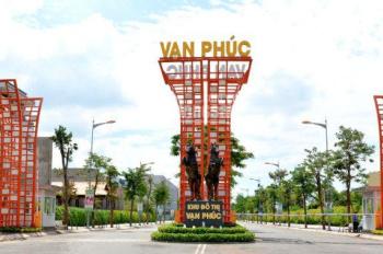 Bán đợt đầu KĐT Vạn Phúc, TĐ, MT Nguyễn Thị Nhung, giá từ 17tr/m2, sổ riêng, LH Vi 0907896678
