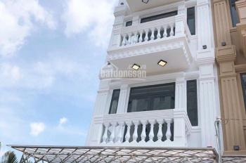 Bán nhà đường Huỳnh Tấn Phát DT sàn 220m2, 3 lầu, 4 PN, mới hoàn thiện, vị trí đẹp, giá 4.6 tỷ