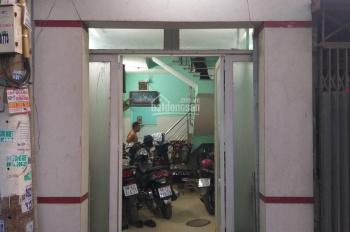 Cần bán nhà riêng Khánh Hội, Q. 4 hẻm ô tô, 4,4mx24m. Có sổ hồng riêng, dân cư đông đúc