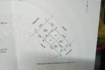 CC cần bán 33m2 đất phân lô quân đội, ô tô vào đất ngõ 210 phố Đức Giang