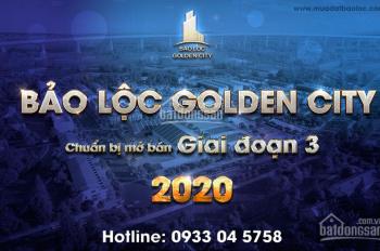 Chuyển nhượng những lô rẻ nhất dự án Bảo Lộc Golden City
