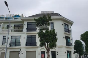 Tổng hợp cho thuê nhà mặt phố Shophouse Vin Mễ Trì Greenbay, DT 100m2 x 3T, 1 hầm giá 50tr/th