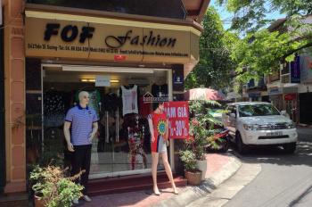 Cho thuê cửa hàng hai mặt phố Lạc Chính và Trần Tế Xương