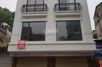 Cho thuê nhà mới hoàn thiện mặt phố Trung Kính Cầu Giấy. DT 95m2 x 5T, MT 5,5m Có điều hòa, 60tr/th