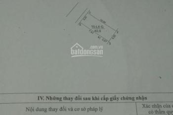 Bán đất khu tái định cư thôn Đỗ Xã, xã Yên Thường, H. Gia Lâm, TP Hà Nội, diện tích: 40m2