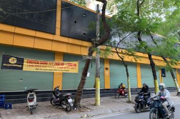 Cho thuê nhà mặt phố Nguyễn Văn Cừ -200m2- Mặt tiền 9m- 2 tầng tổng 400m2