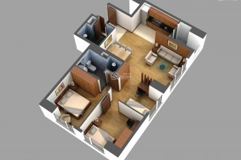 Bán căn góc 2 mặt thoáng, 3PN + 2WC tầng 11 chung cư 789 Xuân Đỉnh