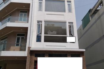 Cho thuê căn nhà dạng Văn Phòng 1 hầm 1 trệt 3 lầu mặt tiền đường số 5, Khu phố 2, Bình An, Q2