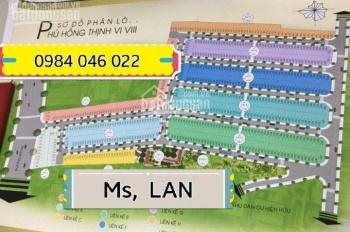 Chính chủ cần bán lô đất block A Phú Hồng Thịnh 8 giá 1,490 tỷ, sổ hồng riêng, LH: 0984.046.022