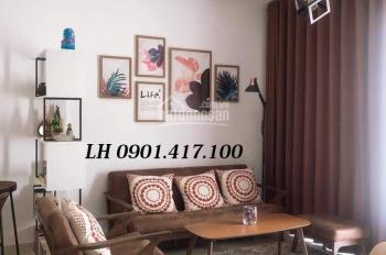 Cho thuê căn hộ Florita Him Lam Quận 7, căn 3PN DT: 103m2 full nội thất cao cấp, view thoáng mát