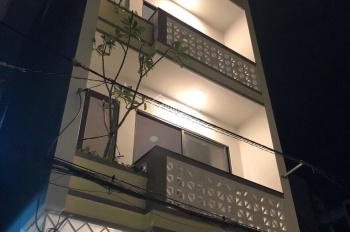 Bán nhà mới đường nhựa 8m Tân Kỳ Tân Quý. DT 4,5m x 10m nhà 1 trệt 3 lầu giá 5,550 tỷ, vị trí đẹp