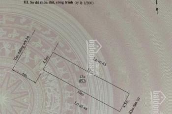 Bán đất mặt tiền đường Lũng Đông - Hải Phòng (được thêm hơn 20m2 ngoài sổ)