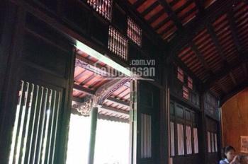 Bán biệt thự cổ nghỉ dưỡng nhà vườn Huế 1500m2 tại Phú Cát, full khuôn viên nhà cổ, hồ, cây ăn quả