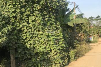Bán lô đất mặt đường vào Khoảng Xanh, Vân Hoà, Ba Vì, HN. 18m mặt tiền