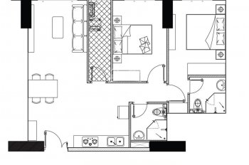 Căn hộ 73m2 Phoenix 1 - tầng 10 chuẩn bị nhận nhà vào tháng 12 này. Thanh toán hơn 900tr ở hữu