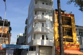 Cho thuê tòa nhà văn phòng góc 2 mặt tiền Nguyễn Tri Phương, Q10, 6.5x16.5m, hầm 5 lầu, giá 185/tr