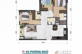 Bán căn hộ Nguyễn Văn Luông, 3PN/92m2, 2WC giá 4,1 tỷ. Giá CĐT. Liên hệ 094 789 68 09