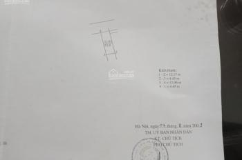 Bán nhà 3 tầng 1 tum, Đình Xuyên - Gia Lâm, 5 phòng ngủ, 3 vệ sinh DT 53.9m2 MT 4.5m, dài: 12.17m