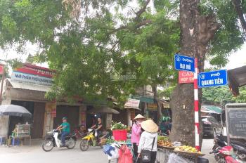 Bán đất Quang Tiến, Đại Mỗ, ôtô đỗ cửa cách Quang Tiến 30m, lô góc, DT 40m2 MT 3,8m giá 2,3 tỷ